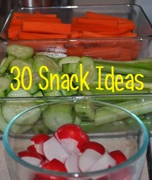 30 Snack Ideas – THM approved