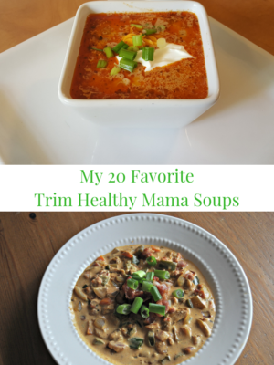 My 20 Favorite Soups ~ THM Style
