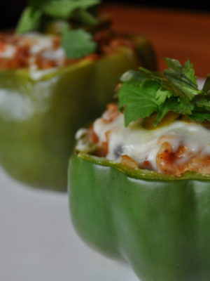 Mexican Stuffed Peppers (E)