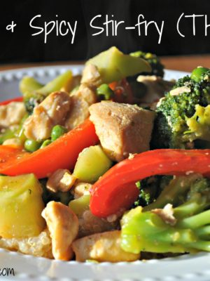 Sweet and Spicy Stir-fry (E)