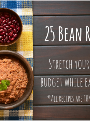 25 Bean Recipes