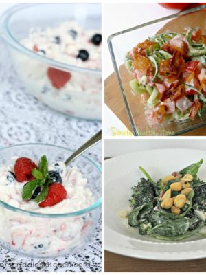 Trim Healthy Mama Salads and Dressings Roundup