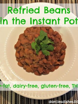 Refried Beans in the Instant Pot
