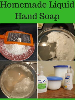 Easy Homemade Liquid Hand Soap