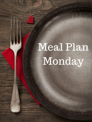 Meal Plan Monday: 1/11-1/17/16