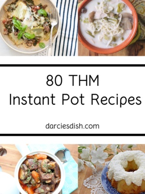 Instant Pot Recipe Round-Up (THM Friendly)